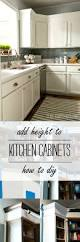 how tall should baseboards be how to add height to kitchen cabinets