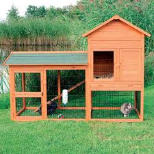 Ferret Hutches And Runs Boomer U0026 George White Wash Outdoor Rabbit Hutch With Extended Run