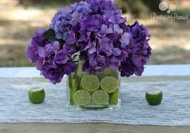 purple centerpieces wedding centerpiece 3 for pennies
