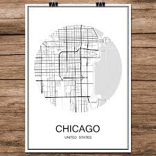 Chicago Street Map by Chicago Wall Map Promotion Shop For Promotional Chicago Wall Map