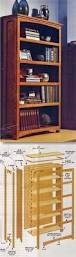 Fine Woodworking Bookshelf Plans by Diy Bookcase Furniture Plans And Projects Woodarchivist Com
