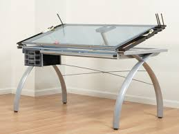 glass drafting table with light furniture stunning futura glass drafting table flickr photo