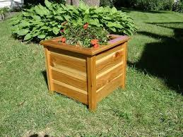 Cheap Planter Boxes by Hand Made Planter Box Cedar Outdoor By Jm Wood Custommade Com