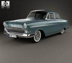 opel kapitan 1960 opel 3d models hum3d
