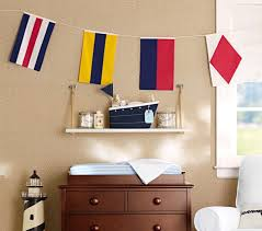 Changing Table Organizer Ideas Fabric Sailboat Changing Table Storage Pottery Barn