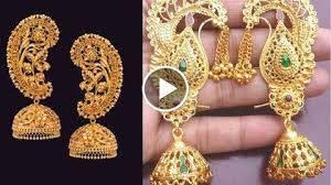 bengali gold earrings kaan bala earrings designs jewellery designs