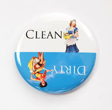 Dirty Clean Dishwasher Magnet Dishwasher Magnet Clean Dishes Dirty Dishes Pinup Kitchen