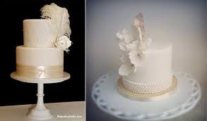 vintage cakes with feathers cake geek magazine