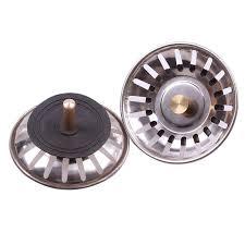 kitchen sink drain stopper practical kitchen stainless steel sink strainer waste disposer plug