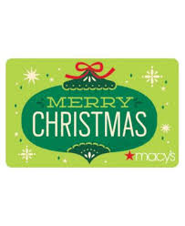 merry christmas gift card with letter gift cards macy u0027s