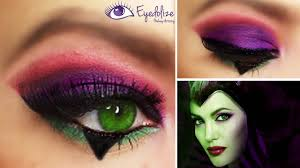 disney maleficent inspired eyeshadow tutorial by eyedolize makeup