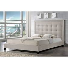 platform king size beds cymax stores