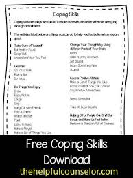 Counseling Skills For Teachers Best 25 Coping Skills Activities Ideas On