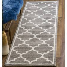 Polypropylene Area Rugs Transitional Rug Transitional Rug Gray White High Quality