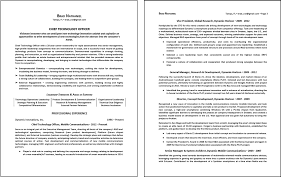 Two Page Resume Format Example by 2 Page Resume Examples Snapiy Com