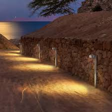 public space bollard light garden contemporary stainless