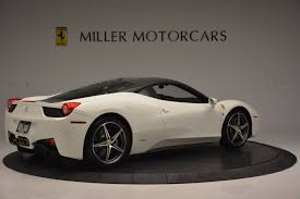 Ferrari 458 Coupe - 2012 ferrari 458 italia stock 4361 for sale near greenwich ct