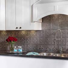 Kitchen Tin Backsplash Comfy Kitchen Ceiling Tiles Tin Panels Metalbacksplash Sheets