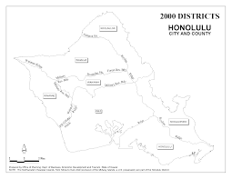 Hawaii State Map by Office Of Planning 2000 Census Reference Maps