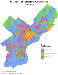 Map Of Philly Defining Communities With Esri U0027s Grouping Analysis Tool Azavea