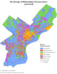 Philadelphia Neighborhood Map Defining Communities With Esri U0027s Grouping Analysis Tool Azavea