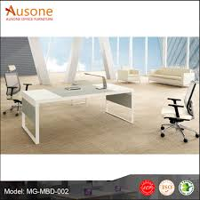 Modern Office Table Designs With Glass Office Executive Glass Table Modern Office Executive Glass Table