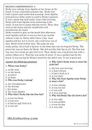 worksheet 4th grade short reading passages wosenly free 3rd