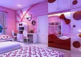 cool hello kitty bedroom idea with futuristic design hello kitty