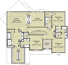 traditional house floor plans 5 bedroom 4 bath craftsman house plan alp 09af allplans com