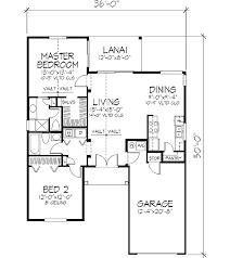 mediterranean style house plan 2 beds 2 00 baths 1042 sq ft plan