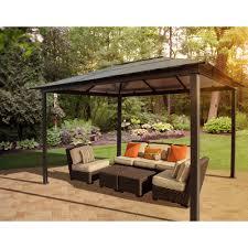 outdoor patio grill gazebo decorative gazebos bj u0027s wholesale club