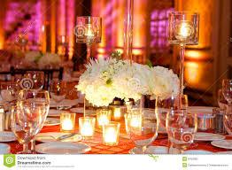 wedding decor table setting flowers stock photos images