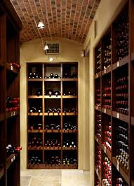 wine rooms unique rustic wine room interior design of woodside rustic interior home wine room design ideas with large rectangle shaped wood wine cabinet furniture and beautiful pendant lamp decorating lighting ideas