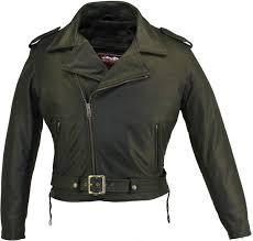 motorcycle jackets with armor men u0027s full belted biker jacket hillside usa