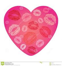 14 best images of printable valentine hearts as lips heart clip