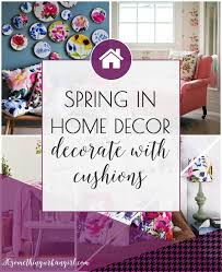 Home Decor Cushions Spring In Home Floral Cushions 30 Something Urban Girl