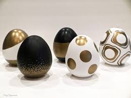 Easter Egg Decorating Gold by Easy Easter Crafts U0026 The Diy Collective No 12