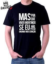 Famosos Camiseta Evidências (Queenler) - Oba! Shop - Nós respiramos música  @UB06