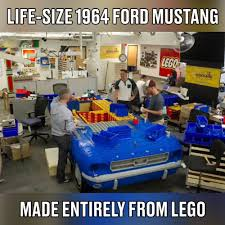 sariel pl mustang gymkhana 100 lego ford mustang lego ideas ford mustang fastback 1968