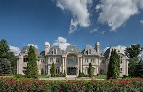 chateau style 25 000 000 style limestone chateau in new jersey chateau