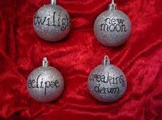 twilight ornaments for kelsey and