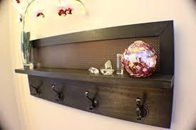 astonishing design wall mounted coat rack with shelf foter wall
