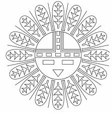 coloring pages native american symbols coloring pages mycoloring