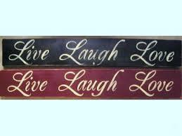 love live laugh live laugh love wooden sign