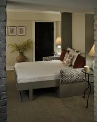 End Table Lamps For Living Room Living Room Awesome Small Space Living Murphy Bed With Grey Pull