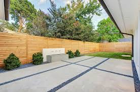 Patio Fence Ideas Modern Patio With Fountain By Classic Urban Homes Zillow Digs