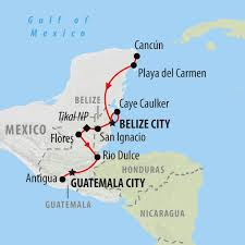Where Is Mexico On The Map by Mexico Tours Holidays To Mexico On The Go Tours