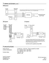 aiphone ryes instructions user manual