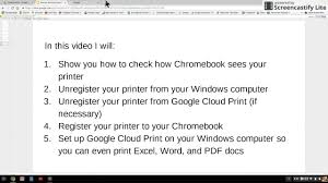 quickbooks payment receipt template chromebook printer offline fix part 1 how is chromebook chromebook printer offline fix part 1 how is chromebook recognizing your printer youtube