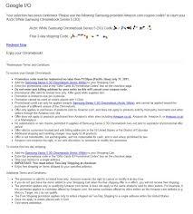 amazon samsung chrome black friday samsung chromebook series 5 google i o 2011 conglomernet tech blog